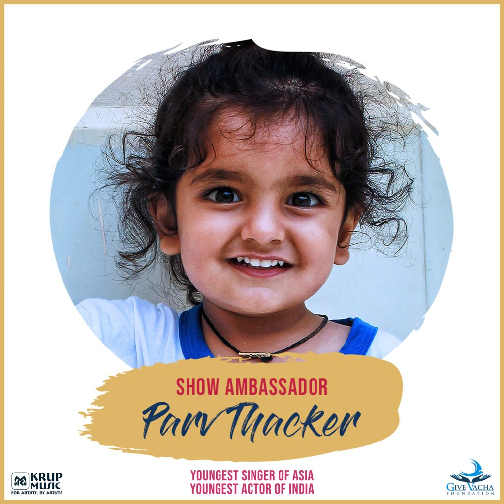 Parv Thacker, the Youngest Singer Of Asia & the Youngest Actor Of India.