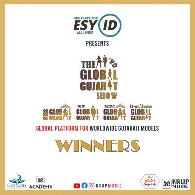 EsyID Present The Global Gujarat Show Season 1 Winners Krup Music