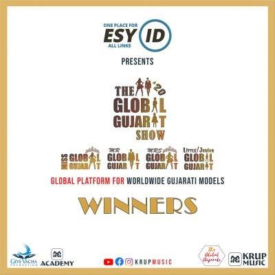 EsyID Present The Global Gujarat Show Season 1 Winners Krup Music