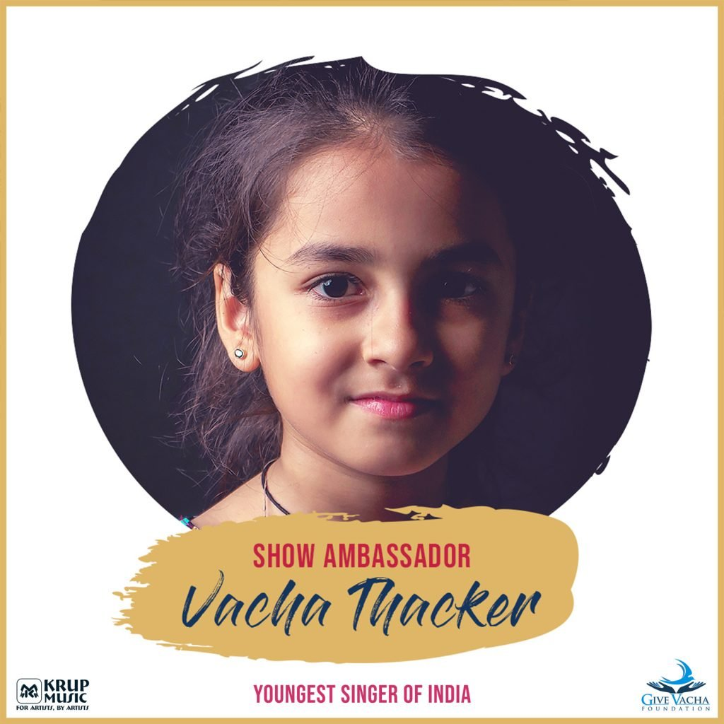 Vacha Thacker, the Youngest Singer Of India.