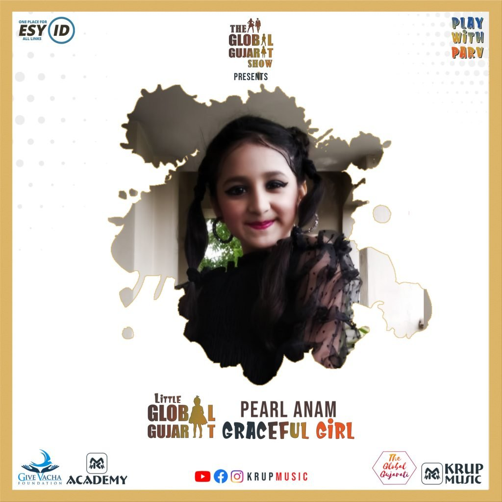 Pearl Anam in Little Global Gujarat Show Krup Music
